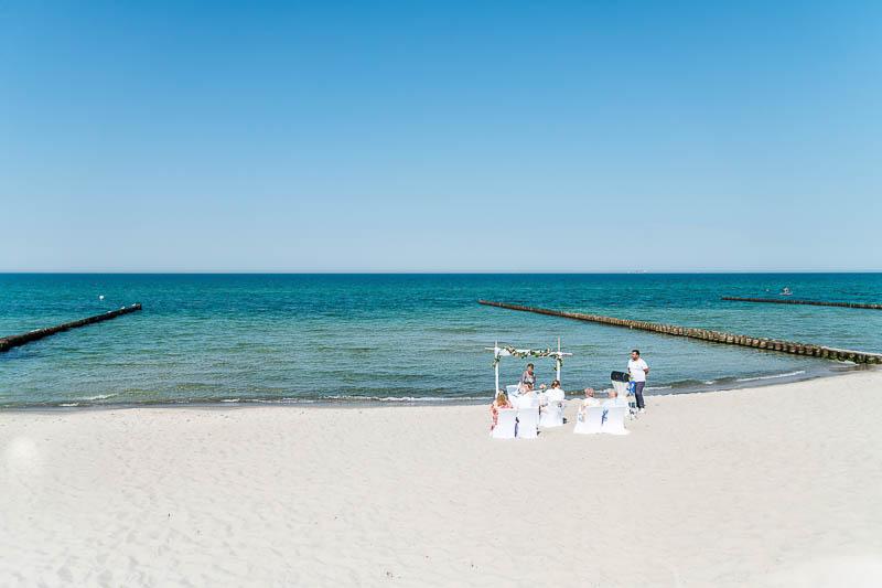 Standesamtliche Trauung an der Ostsee